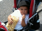 "Jovani with his ""co-cone"""